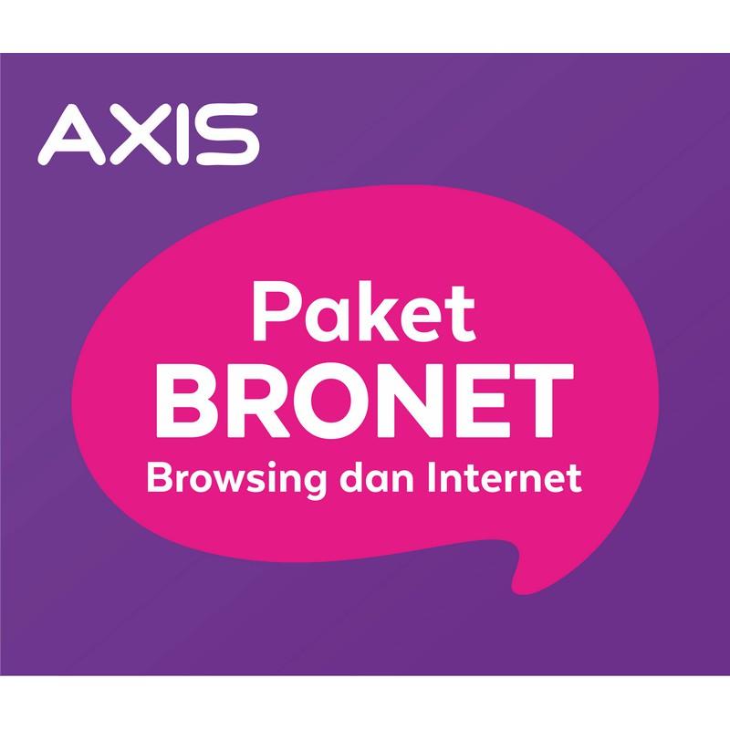 Paket Data Axis - 1 GB Bronet