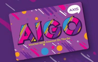 Paket Data Axis Voucher - 3 GB Voucher AIGO