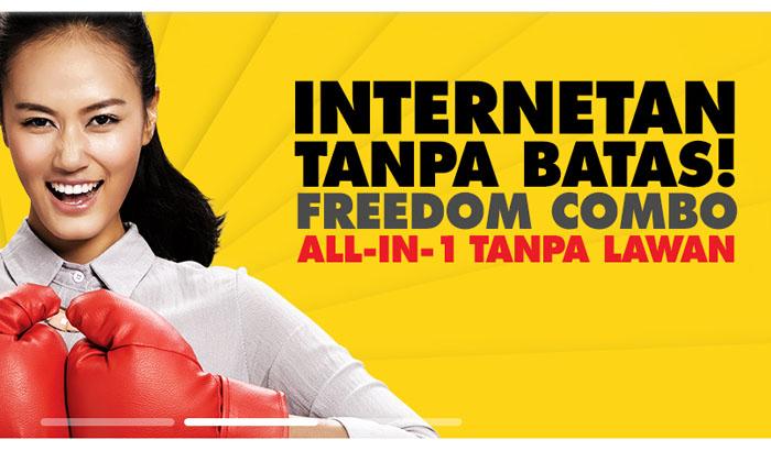 Paket Data Indosat - Freedom XL