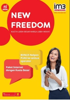 Paket Data Indosat - New Freedom 20 GB